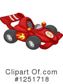 Race Car Clipart #1251718 by BNP Design Studio