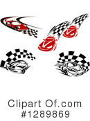 Royalty-Free (RF) Race Car Clipart Illustration #1289869