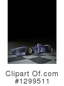 Race Car Clipart #1299511 by Frank Boston
