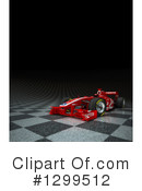 Race Car Clipart #1299512 by Frank Boston