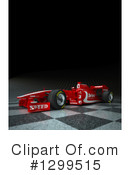 Race Car Clipart #1299515 by Frank Boston