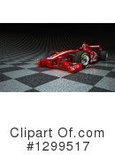 Race Car Clipart #1299517 by Frank Boston