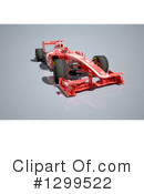 Race Car Clipart #1299522 by Frank Boston