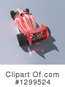 Race Car Clipart #1299524 by Frank Boston