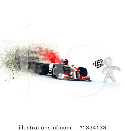 Race Car Driver Clipart #1334133 by KJ Pargeter
