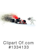 Royalty-Free (RF) Race Car Clipart Illustration #1334133