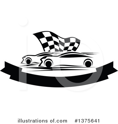 Car Clipart #1375641 by Vector Tradition SM