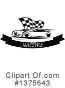 Royalty-Free (RF) Race Car Clipart Illustration #1375643