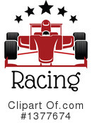 Royalty-Free (RF) Race Car Clipart Illustration #1377674