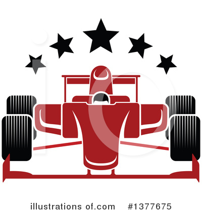 Car Clipart #1377675 by Vector Tradition SM