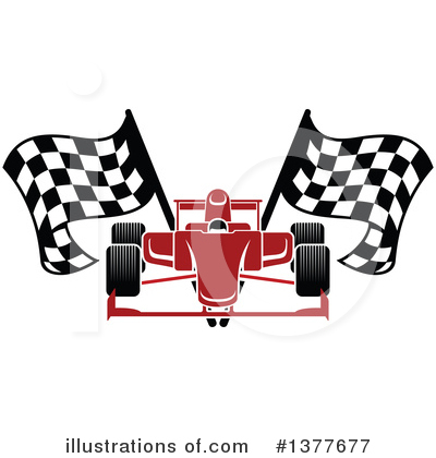 Racing Clipart #1377677 by Vector Tradition SM