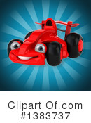Race Car Clipart #1383737 by Julos
