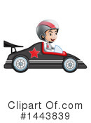 Race Car Clipart #1443839 by Graphics RF