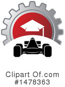 Race Car Clipart #1478363 by Lal Perera