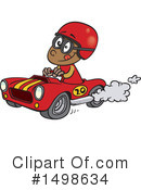 Race Car Clipart #1498634 by toonaday
