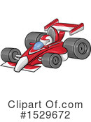Race Car Clipart #1529672 by Domenico Condello