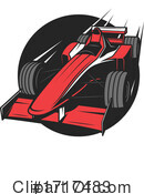 Race Car Clipart #1717483 by Vector Tradition SM