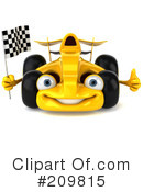 Race Car Clipart #209815