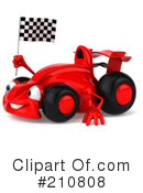 Race Car Clipart #210808 by Julos