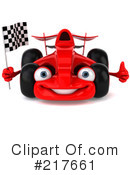 Race Car Clipart #217661 by Julos