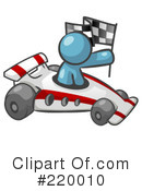 Race Car Clipart #220010 by Leo Blanchette