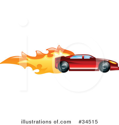 Driving Clipart #34515 by AtStockIllustration