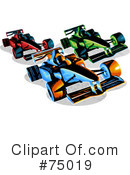 Race Car Clipart #75019