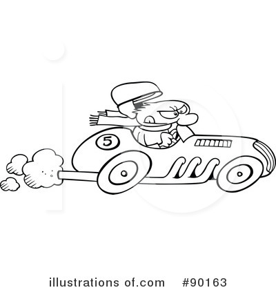 Race Car Driver Clipart #90163 by gnurf