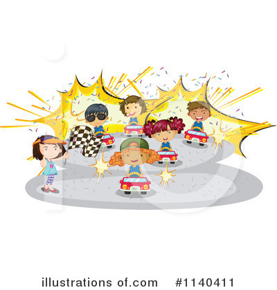 Race Track Clipart #1140411 by Graphics RF