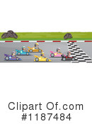 Racing Clipart #1187484 by Graphics RF