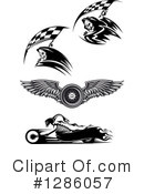 Royalty-Free (RF) Racing Clipart Illustration #1286057