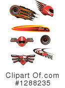 Royalty-Free (RF) Racing Clipart Illustration #1288235