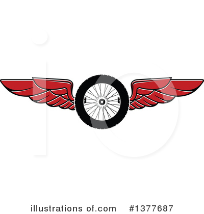 Motorsports Clipart #1377687 by Vector Tradition SM