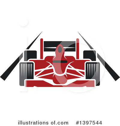 Racing Clipart #1397544 by Vector Tradition SM