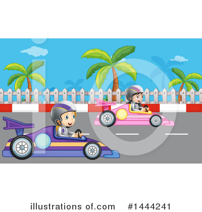 Racing Clipart #1444241 by Graphics RF