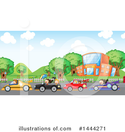 Race Track Clipart #1444271 by Graphics RF