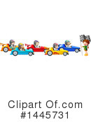 Racing Clipart #1445731 by Graphics RF