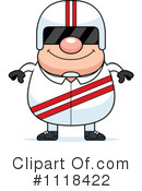 Royalty-Free (RF) Racing Driver Clipart Illustration #1118422