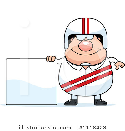 Racing Driver Clipart #1118423 by Cory Thoman