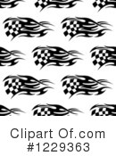 Racing Flag Clipart #1229363 by Vector Tradition SM