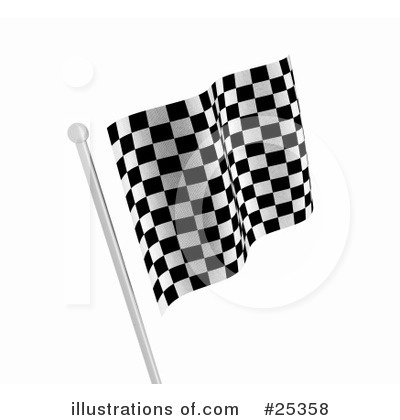 Royalty free rf racing flags clipart illustration by kj pargeter