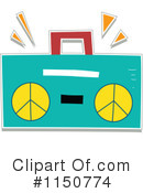 Royalty-Free (RF) Radio Clipart Illustration #1150774