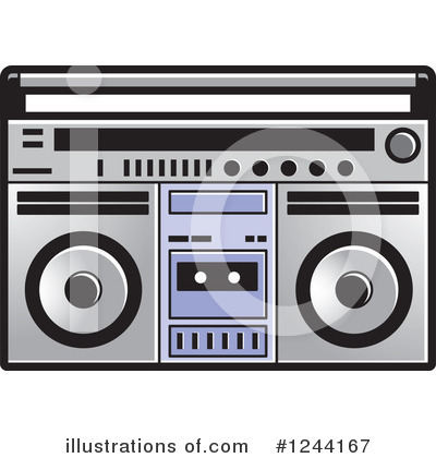 Cassette Tape Clipart #1244167 by Lal Perera