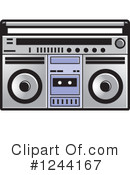 Radio Clipart #1244167 by Lal Perera