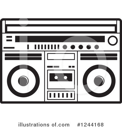 Cassette Tape Clipart #1244168 by Lal Perera