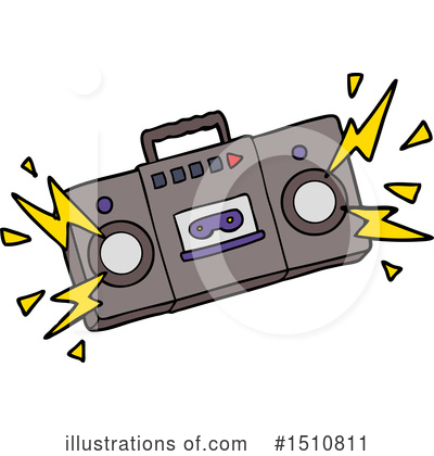 Cassette Tape Clipart #1510811 by lineartestpilot