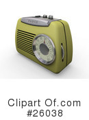 Radio Clipart #26038 by KJ Pargeter
