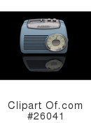 Radio Clipart #26041 by KJ Pargeter