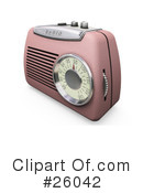 Radio Clipart #26042 by KJ Pargeter