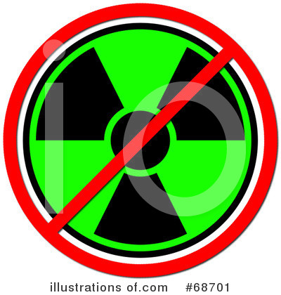 Royalty-Free (RF) Radioactive Clipart Illustration by oboy - Stock Sample #68701